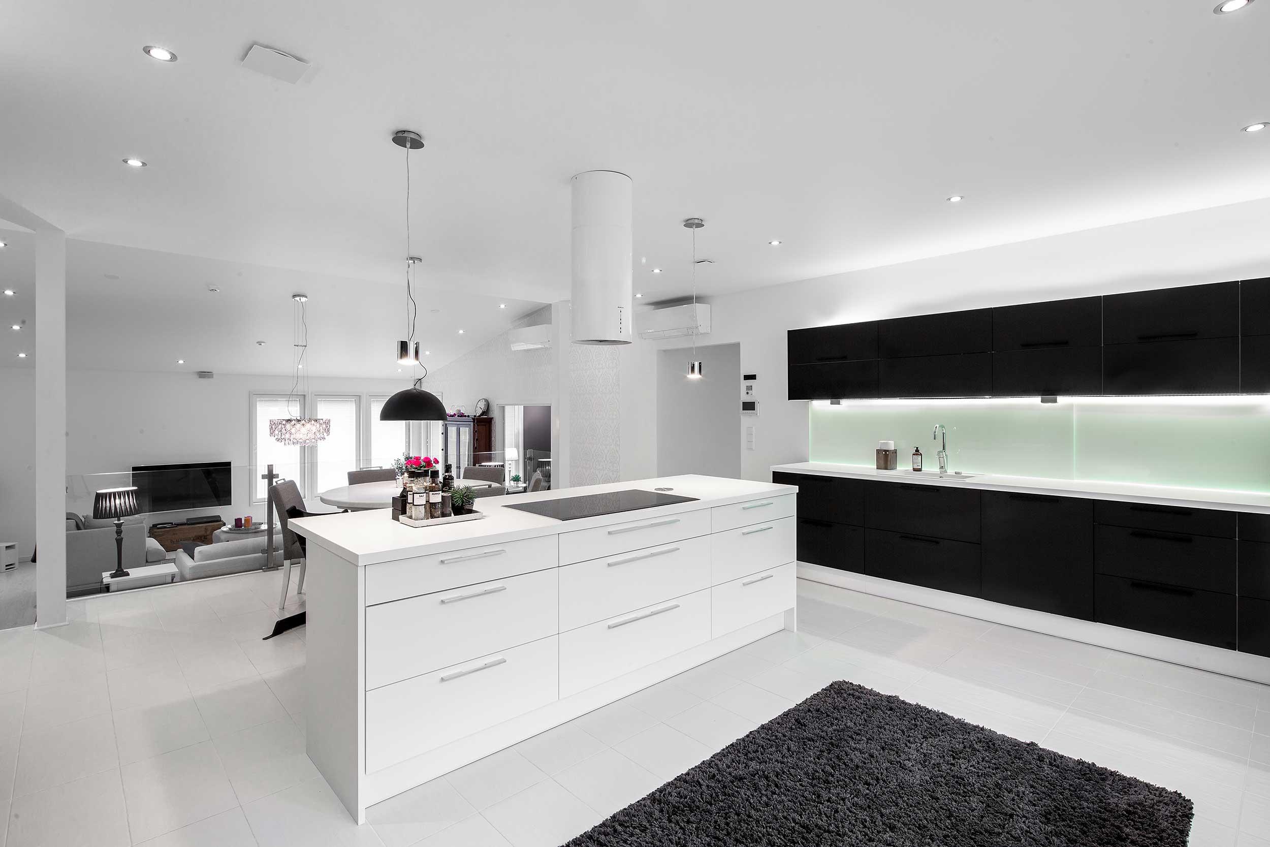asuntokuvaajan-kuva-moderni valkoinen sisustus