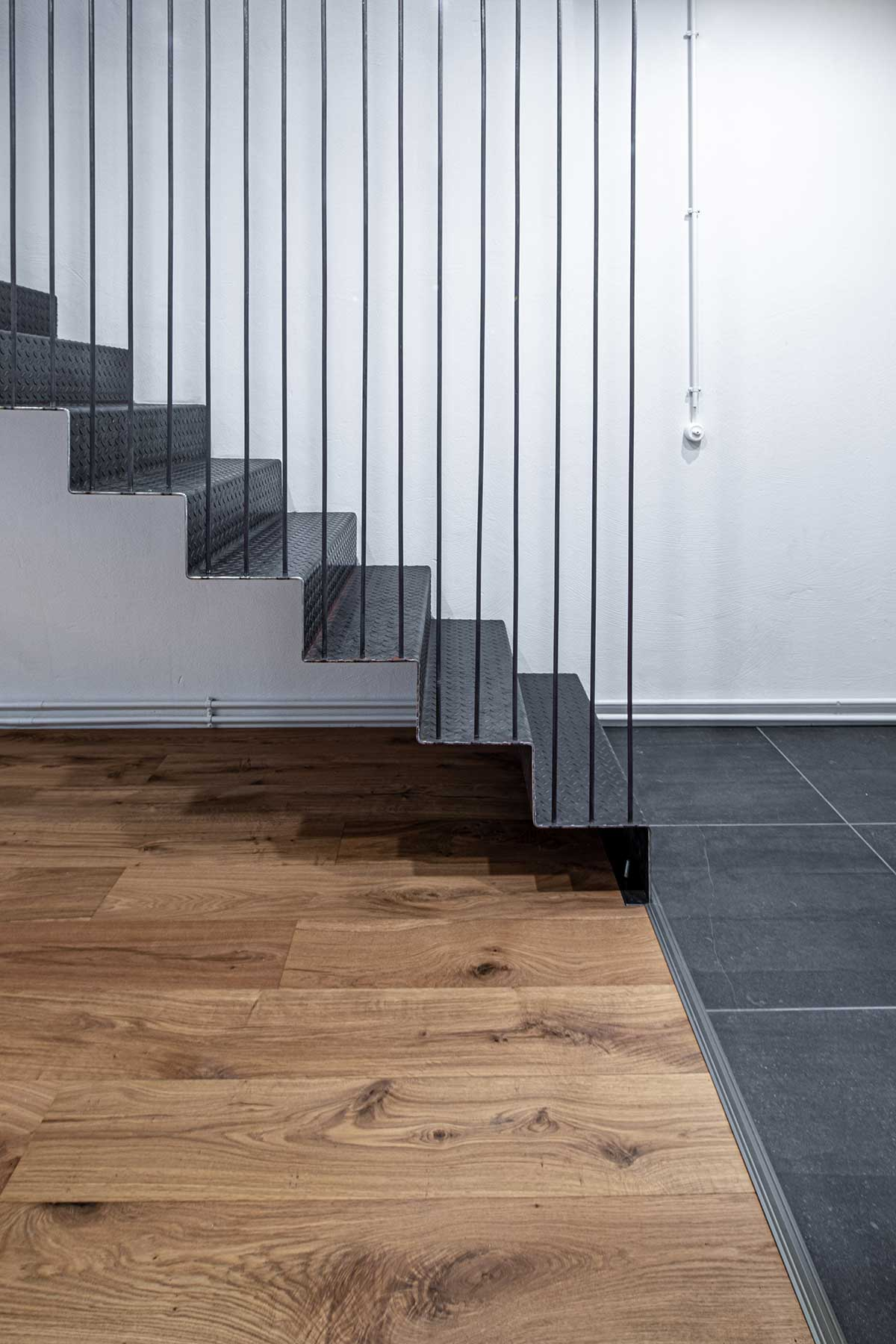 portaikko yksityiskohta