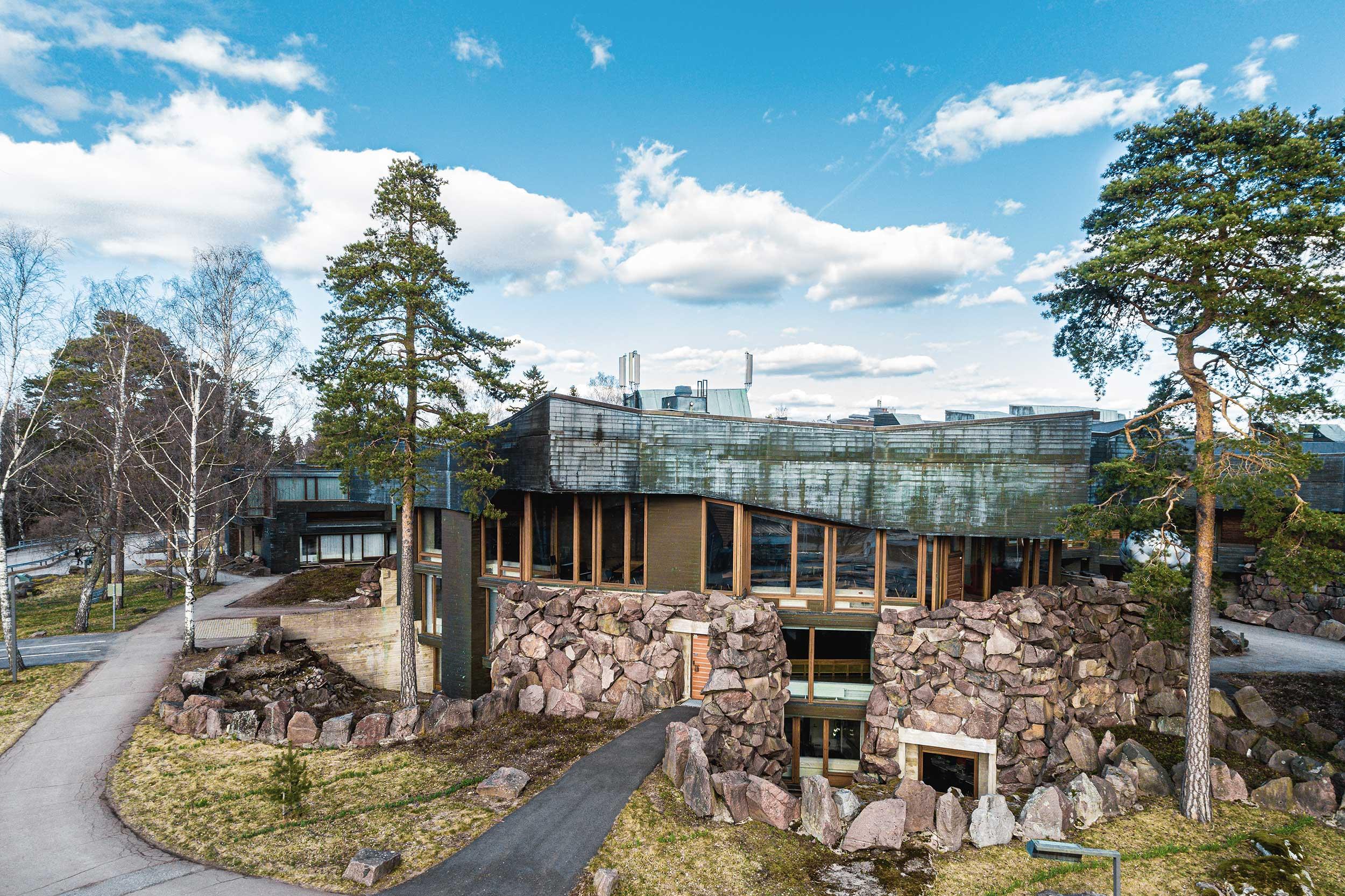 puu ja kivi arkkitehtuurin valokuvaaja